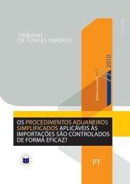 Os prOcedimentOs aduaneirOs simplificadOs ... - EU Bookshop