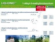 1-Alkyl-3-methylimidazolium - Interchim