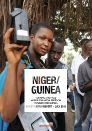 hopes for media freedom in niger and guinea - Reporters Without ...