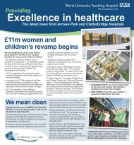Excellence in Healthcare - February 2009 - Wirral University ...