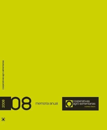 memoria de actividades 2008 - Cooperativas Agro-alimentarias