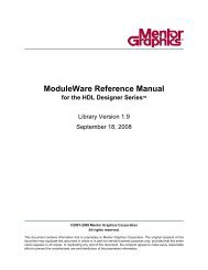 ModuleWare Reference Guide - Hornad
