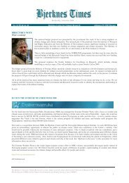 Bjerknes Times 14/2008 (pdf)