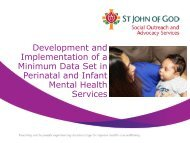 Development and Implementation of a Minimum Data Set in ...