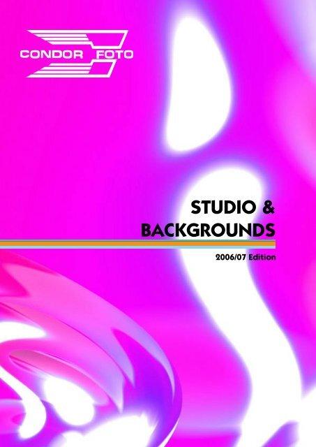 STUDIO & BACKGROUNDS - Condor Foto