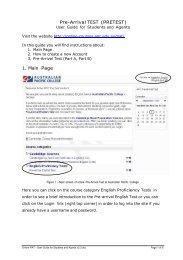 Download PAT manual - APC Online Courses Portal - Australian ...
