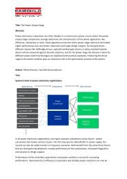 Title: The Power Output Stage Abstract: Power ... - Arrow Electronics