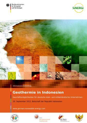 Geothermie in Indonesien - EWiF