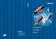 Katalog Witte Werkzeuge (deutsch) - Kirchhoff Gruppe