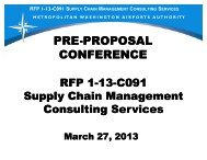 Preproposal Conference Presentation - March 27, 2013