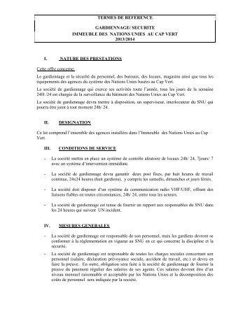 Demande de Proposition (RFP)
