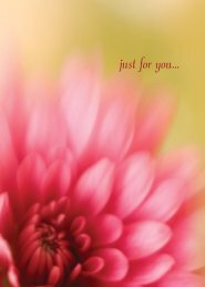 just for you... - RDL Marketing Group