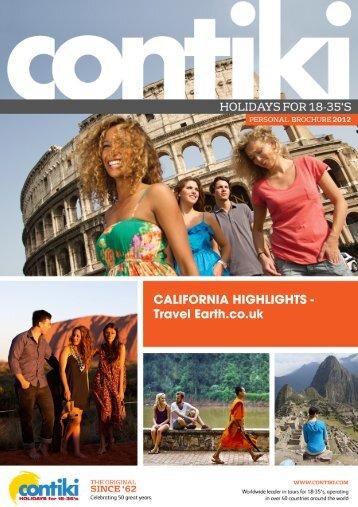 CALIFORNIA HIGHLIGHTS - Travel Earth.co.uk