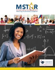 M-STAR Guidance Manual - Mississippi Department of Education