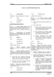 Hlava 6 - Letecká informační služba - Řízení letového provozu