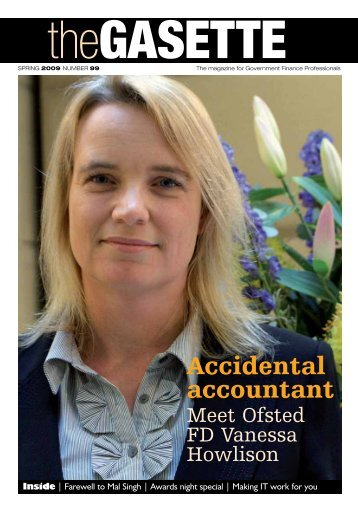 Accidental accountant - Government Finance Profession