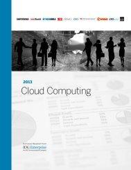 2013 Cloud Computing - Computerworld