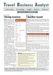 TBA ASIA November 2004.indd - Travel Business Analyst