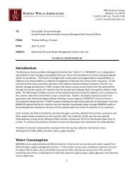Rate Study - Monterey Peninsula Water Management District