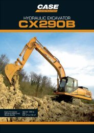 CX 290 B - Case Construction