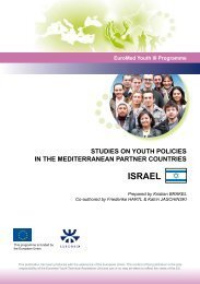 youth policy in Israel - Salto