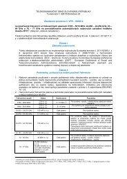 Všeobecné povolenie č. VPR – 09/2012 na používanie frekvencií vo ...