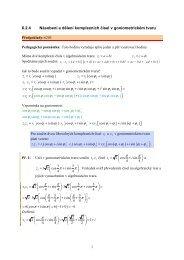 6.2.4 Násobení a dělení komplexních čísel v goniometrickém tvaru ϕ ...
