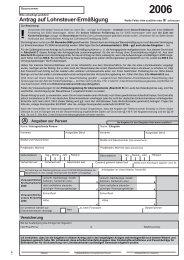 Antrag auf Lohnsteuer-Ermäßigung 2006 (160 KB)