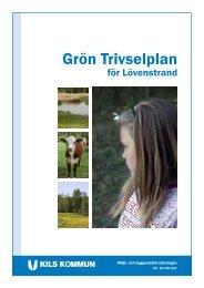 Läs Grön trivselplan för Lövenstrand - Kil