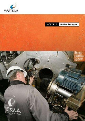 BOIlER SERVICES - Wärtsilä