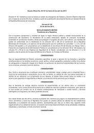 Decreto Nº 09 Emergencia Sistema Eléctrico Abril 22 ... - cpzulia.org