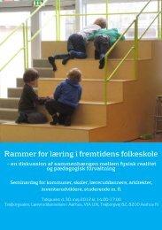 Rammer for læring i fremtidens folkeskole - Kids n' Tweens Lifestyle