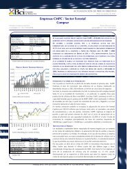 Empresas CMPC / Sector Forestal Comprar - Bci