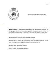 Aanbeveling uit eigen beweging aangaande de rol van - Privacy ...
