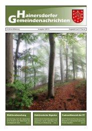 Gemeindezeitung 03-10 (1,05 MB) - Gemeinde Hainersdorf