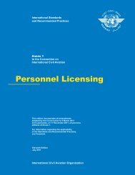 ICAO Annex 1 to the Convention on International Civil Aviation