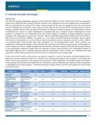 5. Fuels and Lubricants Technologies - EERE - U.S. Department of ...