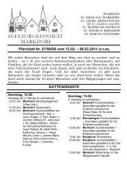 Pfarrblatt Nr. 07/08/09 vom 12.02. – 06.03.2011 (€ 0,30)