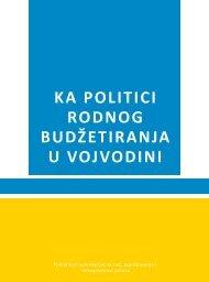 ka politici rodnog budžetiranja u vojvodini - United Nations in Serbia