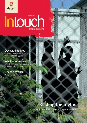 Download In Touch Spring 2010 here (pdf 4mb) - Alumni - Murdoch ...