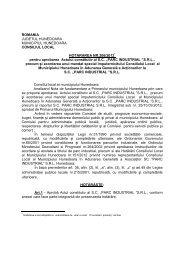 HCL 206-2012.pdf - Primaria Municipiului Hunedoara