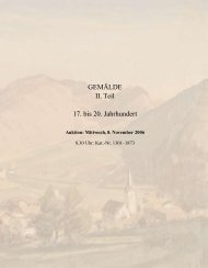 Gemälde, II. Teil - Galerie Fischer Auktionen AG