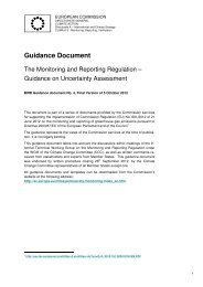 Guidance on Uncertainty Assessment - European Commission ...