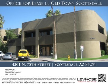 Office for Lease in Old Town Scottsdale