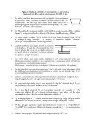 1. házi feladat, 1. hf ellenőrző 2. házi feladat