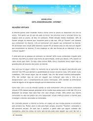 DEVOLUTIVA ESTE JOVEM BRASILEIRO - INTERNET