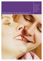 Preparing for pregnancy (pdf) - Belfast Health and Social Care Trust