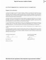 2012-03-31 - Finances - Gouvernement du Québec