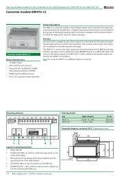 Converter module SMI472-12 - Bender Benelux BV
