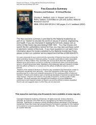 Free Executive Summary - Florida State University